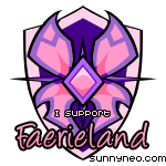 Badge Faerieland