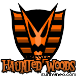 Badge Haunted Woods