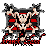 Badge Krawk Island