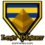 Badge Lost Desert