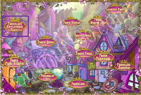 Faerie City Map