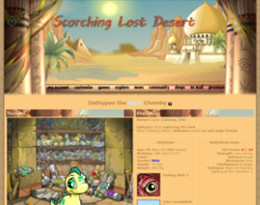 Town of Lost Desert