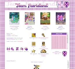 Faerieland (Old) CSS Simple