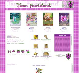 Faerieland (New) CSS Simple