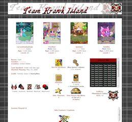 Krawk Island CSS Simple