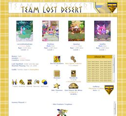 Lost Desert CSS Simple