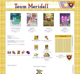 Meridell CSS Simple