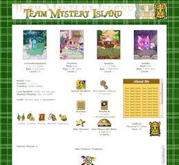 Mystery Island CSS Simple