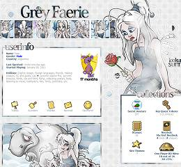 Grey Faerie