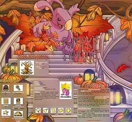Pumpkin Staircase